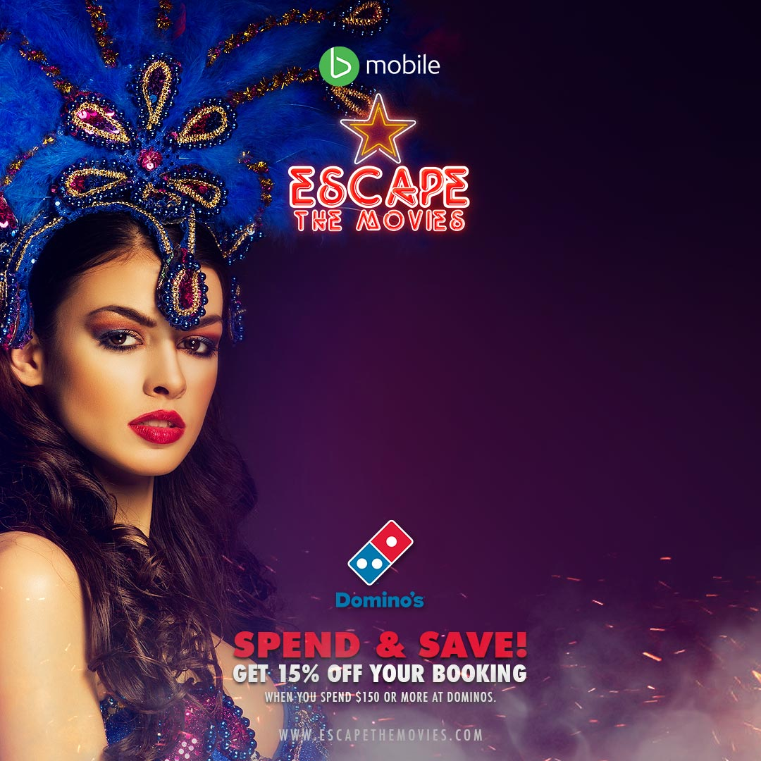 Escape the Movies - Dominos Carnival Special